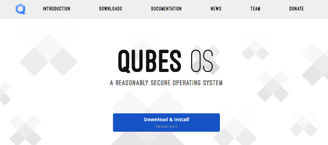 Qubes OS is a highly secure open-source OS