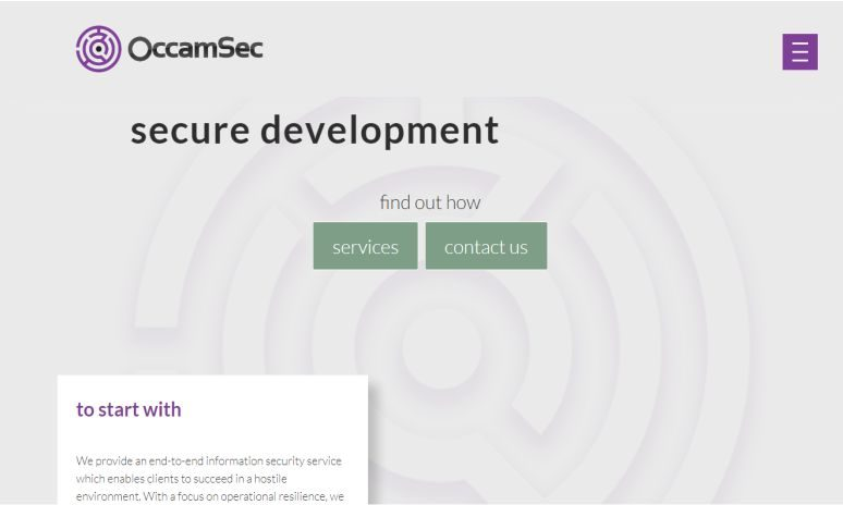 Exclusive Interview with Mark Stamford, CEO Occamsec